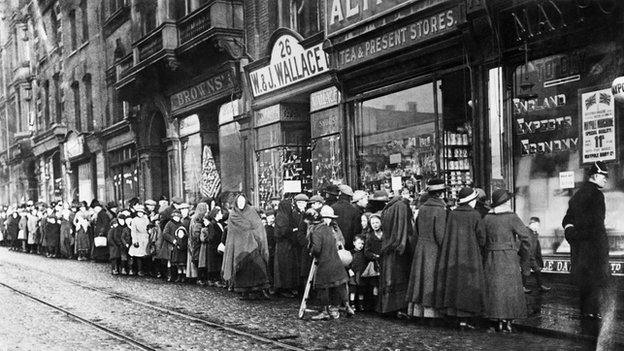 World War One Shop During World War One