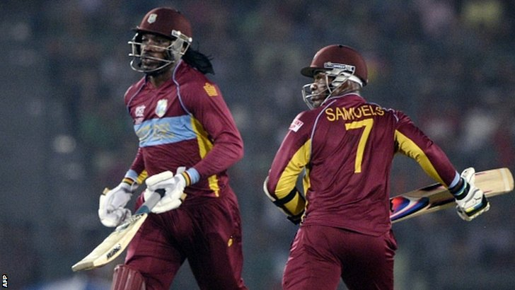 Chris Gayle and Marlon Samuels
