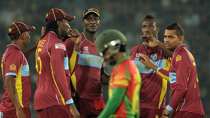 West Indies strike