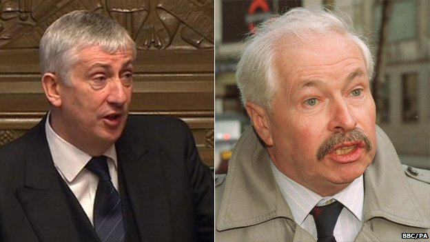Lindsay Hoyle and Doug Hoyle