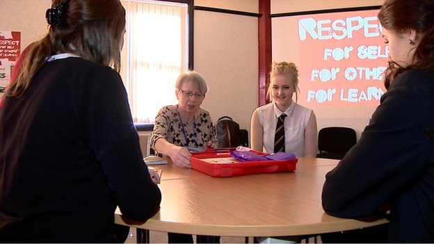 sex education training at Kirkcaldy High