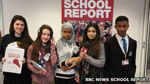 School Reporters from Richmond Park Academy