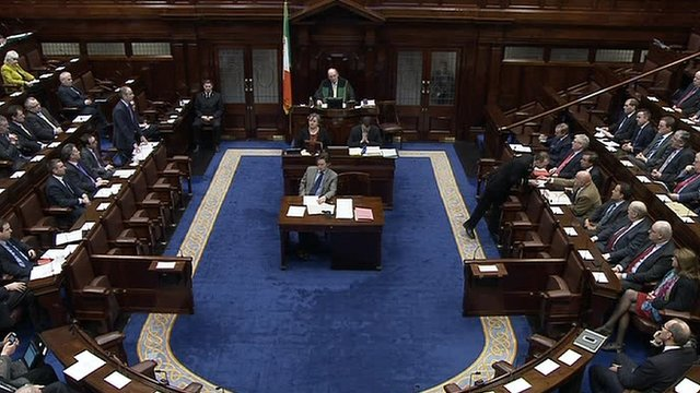 The allegations of widespread secret recordings were discussed in the Dáil on Tuesday