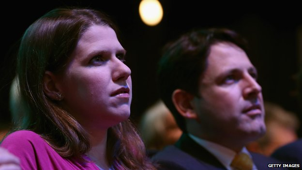 Jo Swinson and Duncan Hames