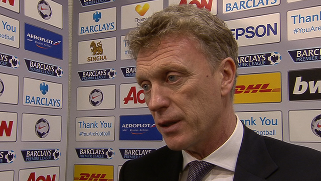 Man Utd 0-3 Man City: David Moyes says 'poor' second goal ruins match