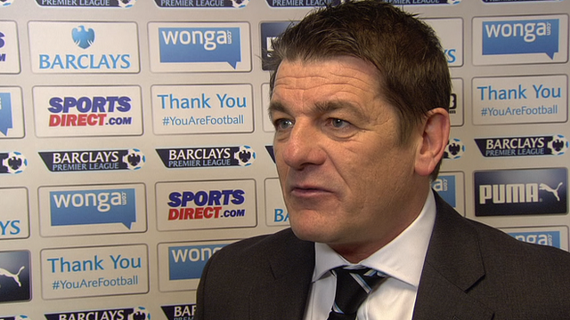 Newcastle 0-3 Everton: John Carver says season can not fizzle out