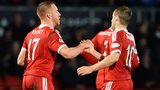 Adam Rooney and Niall McGinn