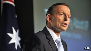 File photo: Tony Abbott, 25 March 2014