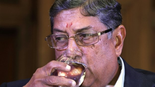 Mr Srinivasan owns the Chennai Super Kings team