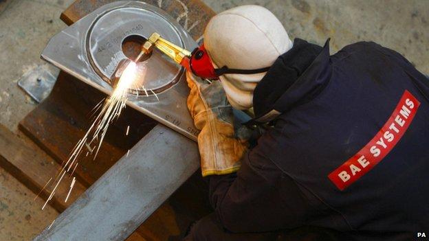 BAE worker