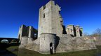 And another castle. This one of Raglan was taken by Paul James from Chepstow on a Sunday afternoon in the glorious sunshine.