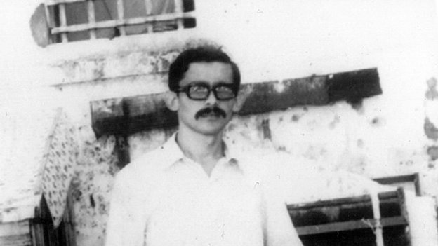 Inocencio Uchoa in detention in Brazil in 1970/71