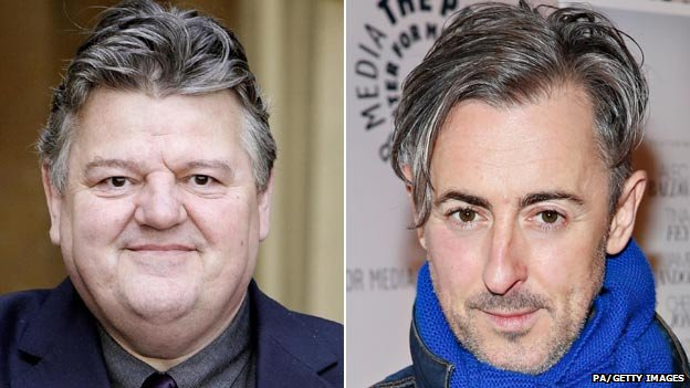 Robbie Coltrane and Alan Cumming