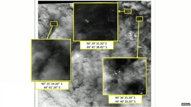 French images, given to the Malaysian Remote Sensing Agency by Airbus