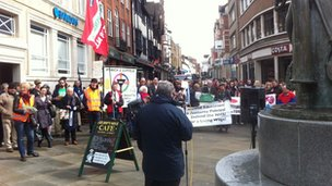 Ipswich NUT strike