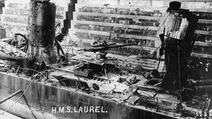 HMS Laurel