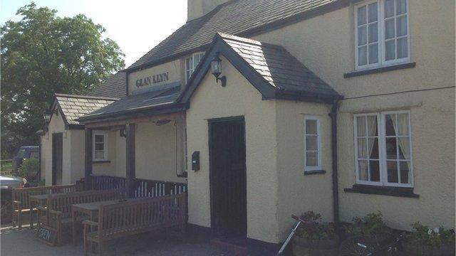 Glan Llyn Inn, Clawddnewydd, near Ruthin
