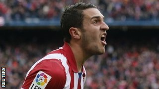 Atletico Madrid midfielder Koke