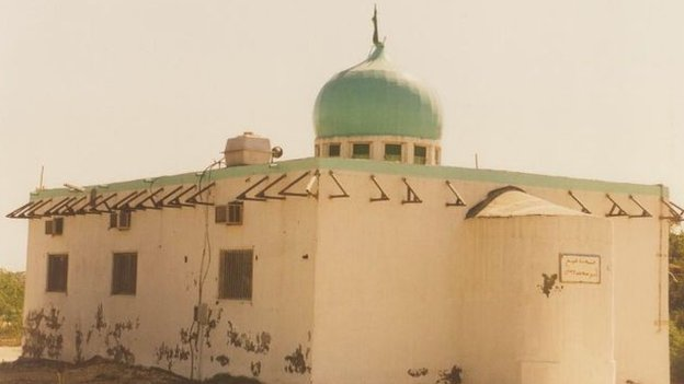 Amir Mohammed Mohammed Barbagi Mosque before it was demolished