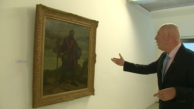 One lonely man and his hoard of Nazi art
