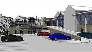 Plans for the former Robinsons Brewery site in Ulverston