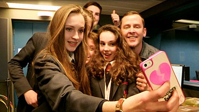 School Reporters from Llandovery College look at the phenomenon of the selfie