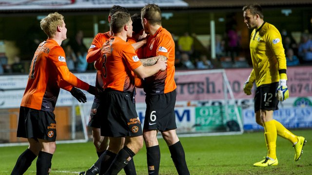 Dundee United beat Inverness CT 2-1 at Tannadice