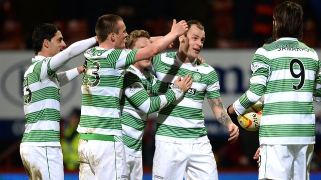 Celtic were 5-1 winners at Firhill