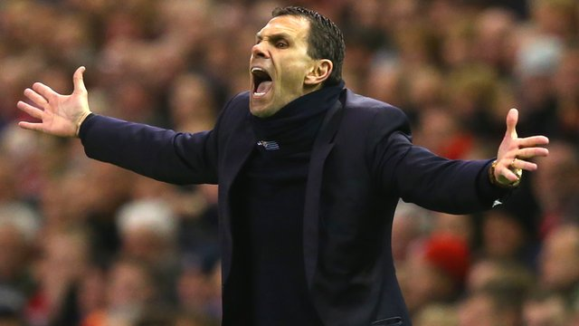 Liverpool 2-1 Sunderland: Gus Poyet 'wants to start next game now'