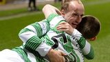 Celtic sealed the title with a 5-1 win at Partick Thistle