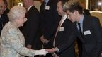 Niall Horan and the Queen