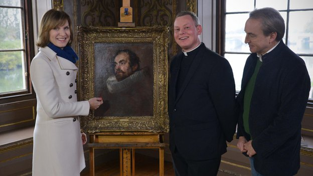 Van Dyck portrait on Antiques Roadshow