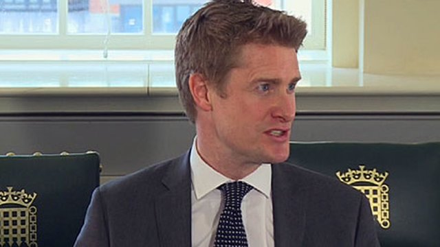 Shadow education secretary Tristram Hunt is quizzed by School Reporters