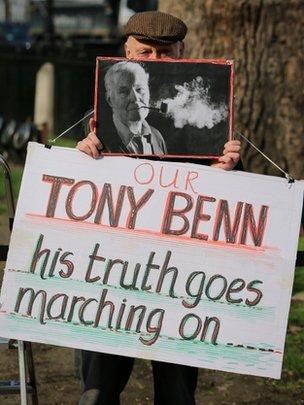 Tony Benn funeral