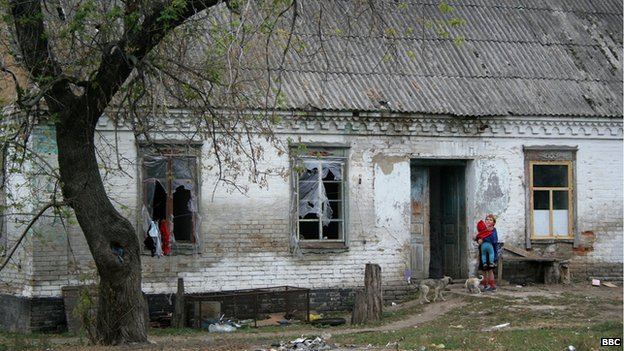 Rundown farm in southern Ukraine (file photo 2006)