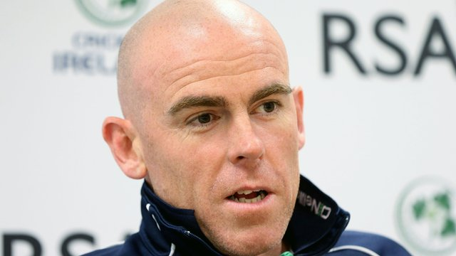 Ireland women's coach Trent Johnston