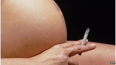 Smoking during pregnancy is not advised