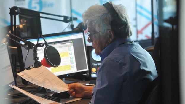 Peter Allen on air