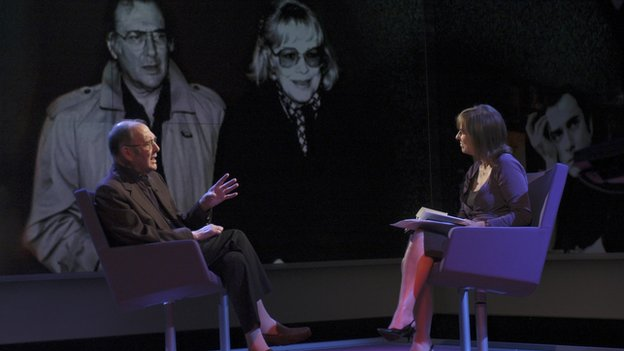 Harold Pinter interviewed on Newsnight Review