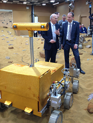 Vince Cable and David Parker