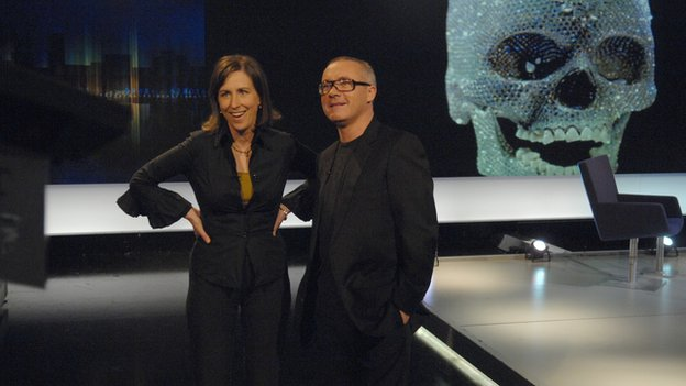 Damien Hirst on Newsnight Review