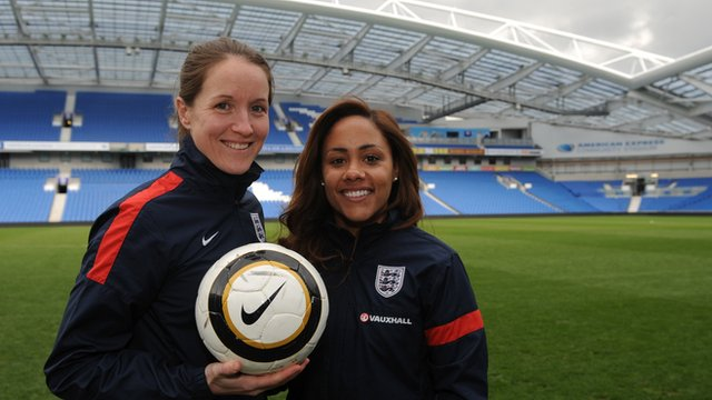 Women's World Cup 2015: Casey Stoney & Alex Scott ready for Montenegro