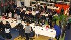 BBC Birmingham School Report newsroom