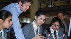 Nishkam High School online reporters