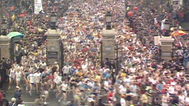 BBC Sport looks back at the first running of the London Marathon in 1981.