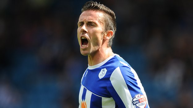 Sheffield Wednesday midfielder David Prutton