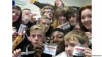The Gordon Schools in Aberdeenshire create their own version of the 'Oscars selfie'