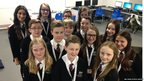 Northfield School and Sports College gather for a photo