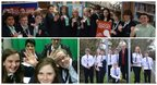 Clockwise from top: Regents Park Community College, The Argoed High School and Colston's School on News Day 2014
