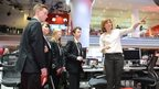 School Reporters meet newsreader Fiona Bruce
